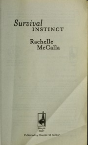 Cover of: Survival instinct | Rachelle McCalla