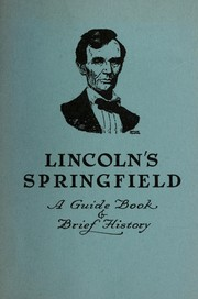 Cover of: Lincoln's Springfield