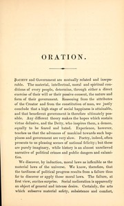 Cover of: Oration by William H. Seward, at Plymouth