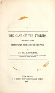 Cover of: The case of the Florida