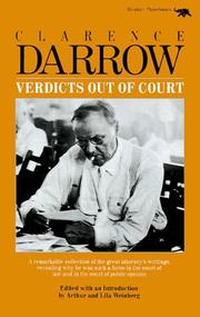 Cover of: Verdicts out of court