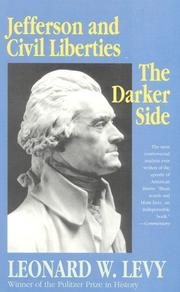 Cover of: Jefferson & civil liberties: the darker side