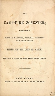 Cover of: The camp-fire songster |