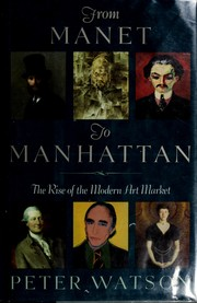 Cover of: From Manet to Manhattan