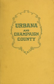 Cover of: Urbana and Champaign county