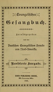 Cover of: Evangelisches Gesangbuch | German Evangelical Synod of North America