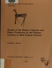 Cover of: People of the desert, canyons, and pines | Connie Lynn Stone