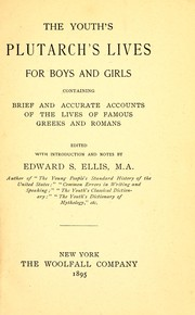 Cover of: The youth's Plutarch's Lives for boys and girls