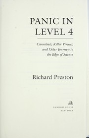 Cover of: Panic in level 4