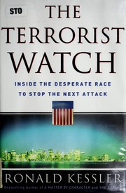 Cover of: The terrorist watch | Ronald Kessler