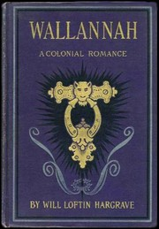Cover of: Wallannah | Will Loftin Hargrave