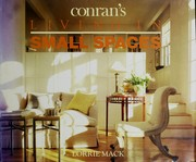 Cover of: Conran's Living in Small Spaces