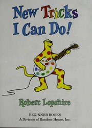 Cover of: New tricks I can do! | Robert Lopshire