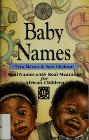 Cover of: Baby names for African children