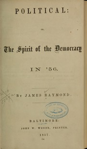 Political by Raymond, James