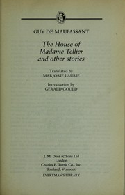 Cover of: The house of Madame Tellier and other stories