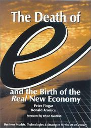 "Cover of: The death of ""e"" and the birth of the real new economy"
