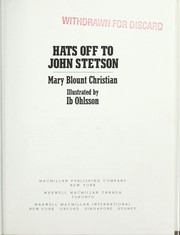 Cover of: Hats off to John Stetson