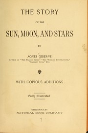 Cover of: The story of the sun, moon, and stars