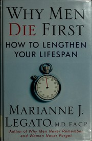 Cover of: Why men die first