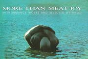 Cover of: More than meat joy