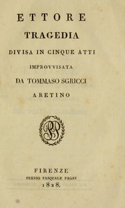 Cover of: Ettore