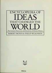Encyclopedia of ideas that changed the world by Robert R. Ingpen