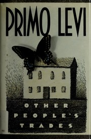 Other people's trades by Primo Levi