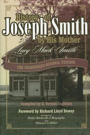 Cover of: History of Joseph Smith by His Mother Lucy Mack Smith