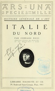 Cover of: Italie du nord