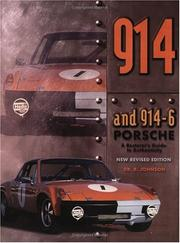 Cover of: 914 Porsche | Dr B Johnson