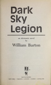 Cover of: Dark sky legion