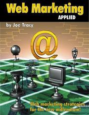 Cover of: Web Marketing Applied  | Joe Tracy