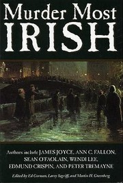 Murder Most Irish by Ed Gorman (Editor), Larry Segriff (Editor), Martin H. Greenberg