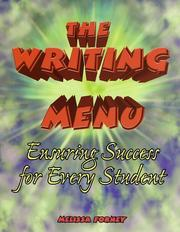 Cover of: The writing menu