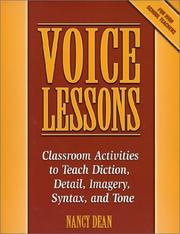 Cover of: Voice Lessons