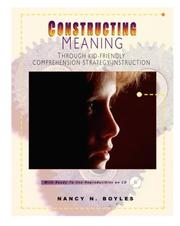 Cover of: Constructing Meaning Through Kid-Friendly Comprehension Strategy Instruction