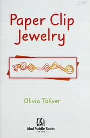 Cover of: Paper clip jewerly