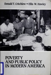 Cover of: Poverty and public policy in modern America