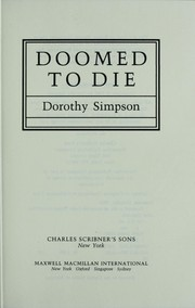 Cover of: Doomed to die | Simpson, Dorothy
