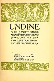 Cover of: Undine