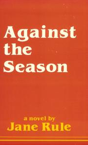 Cover of: Against the season