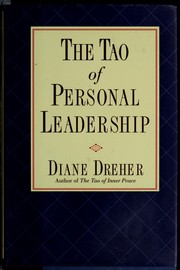 Cover of: The Tao of personal leadership