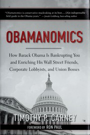 Cover of: Obamanomics | Timothy P. Carney