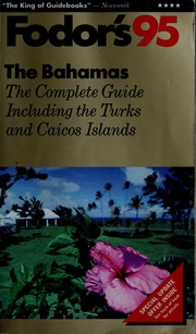 Cover of: Bahamas
