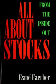 Cover of: All about stocks | Esmé Faerber