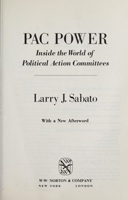 Cover of: PAC power
