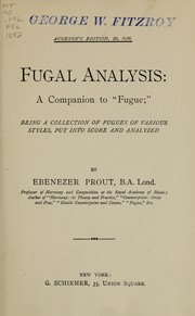 Fugal analysis
