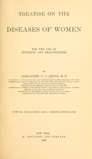 Cover of: Treatise on the diseases of women