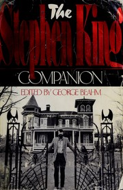 Cover of: The Stephen King companion | edited by George Beahm.